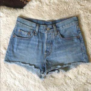 Classic Levi's Cut Off Shorts